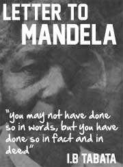 Quote from book by I.B.Tabata - letter-to-mandela